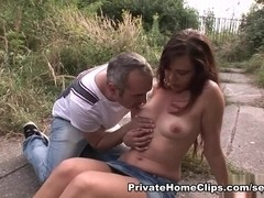 AmateurSexTeens Clip: Aneta and Tomas