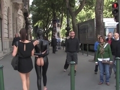 Hot Euro slut gets tied up and fucked for the first time!!!!