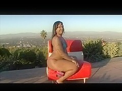BBW Ebony Fucked Poolside