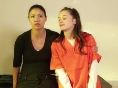 Annie Cruz & Rachael Madori in Prison Lesbians #04 - BTS Featurette - SweetheartVideo