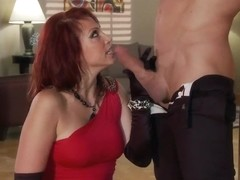 Busty widow Nicki Hunter needs some good sex