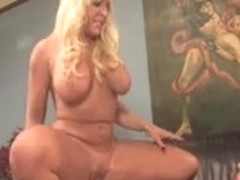 Blonde Goddess Copulates Bondman For Enjoyment