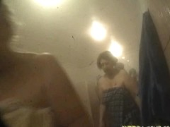 Spy cam shoots shower room filled with nude bodies