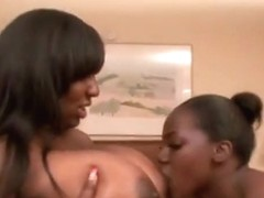 Lesbian sucking big natural boobs of luxury amore compil