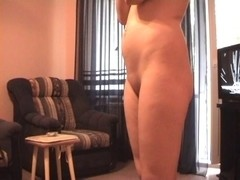 Licking and fucking vagina of my exposed girlfriend non-professional