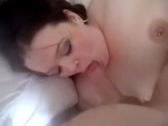 Chunky GF Oral Pleasure Fun and Sperm Flow