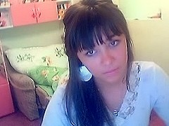 I recorder one beauty on webcam