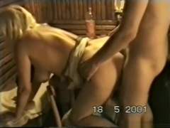 My friend and i fuck the wife doggystyle