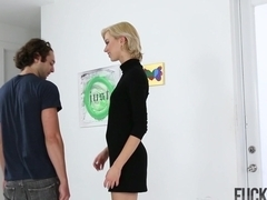 Hailey Reed in Searching For The Perfect CreamPie