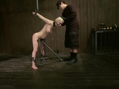 Cherry Torn gets all tore up as she gets her ass whipped all to hell!