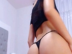 Pretty Babe with Perfect Round Ass