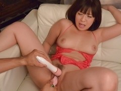 Horny Japanese slut Wakaba Onoue in Best JAV uncensored Lingerie scene