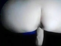 Fat ass Serbian bimbo gets boned from behind
