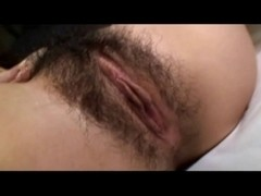 Hawt gorgeous Japanese mother I'd like to fuck's hawt hirsute muff creampied