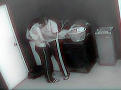 Married Couple Banging On Their Home Security Video