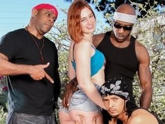 Jodi Taylor & Dsnoop & Wesley Pipes & Mark Anthony in Jodi Taylor Unleashed, Scene #01