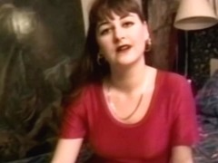 Retro debutante doggystyled in homemade video