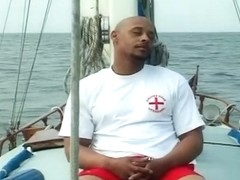 Caramel And Shai Fuck Devlin Weed On A Boat