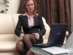 LacyNylons Movie: Emilia C