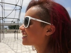 Amazing pornstar Skin Diamond in Horny Redhead, Solo Girl xxx video