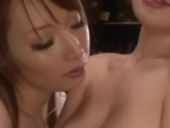 Japanese gals kiss1246-two