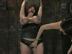 How to chastise a breasty doxy.