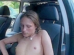 Masturbating In A Parked Car