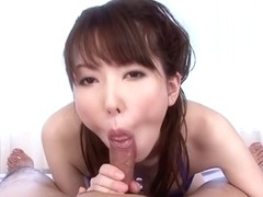 Crazy Japanese whore Ramu Nagatsuki in Amazing JAV uncensored Cumshots movie