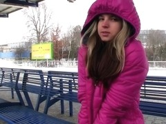 Gina Gerson - Flashing Strangers on a Educate