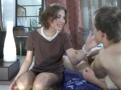PantyhoseLine Video: Madeleine and Morris