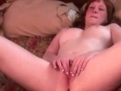 REAL REDHEAD LUCY PALE SKIN PINK PANTOONS 4