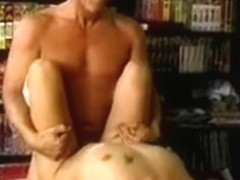 Blond playgirl fingers her vagina and rubs her merry love muffins then copulates