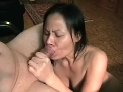 Asian black brown mother i'd like to fuck wife gives professional blow job-stimulation