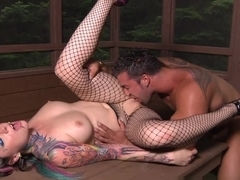 Hottest pornstar Shana Ryder in Fabulous Stockings, Tattoos adult scene