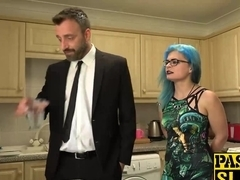 Horny Caitlin Minx enjoys when her wet pussy is hard drilled