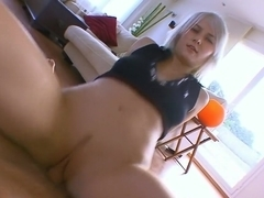 Best pornstar Lora Row in fabulous blonde, facial adult video