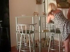 Dilettante german wench wife in wicked anal act