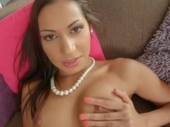 Round ass exotic beauty teases her pussy till dripping