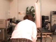 Shino gets a tits examination at the gynecological clinic