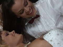 Prinzzess & Renee Perez in Lesbian Bridal Stories #04, Scene #01