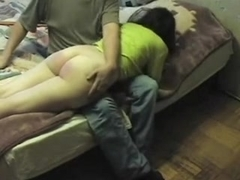 My homemade booty vid shows me getting spanked