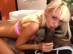 Skinny Erica and Monster of cock