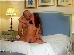 Teen gets rough anal from an old guy
