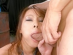 Exotic Japanese chick Asuka in Horny JAV uncensored Blowjob clip