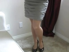 Pantyhose milf seduce voice