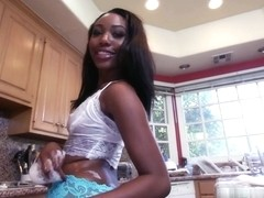 Teanna Trump in Banging A Sexy BrownBunny! Video