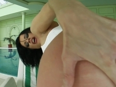 Rough anal hardcore sex with Cecilia V from Ass Traffic