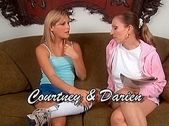 Courtney Simpson & Darien Ross in Lesbian Seductions #06, Scene #05