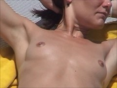 beach beauty 003 incredible french wife topless punta cana