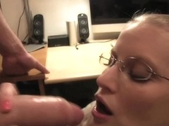 PublicAgent: Kate falls for a fake job interview and sucks and fucks my big dick